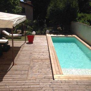 Réalisation de la piscine et de la terrasse